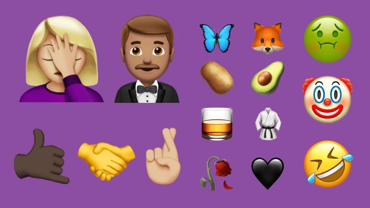 Every new emoji in ios 102 december 2016 update ios