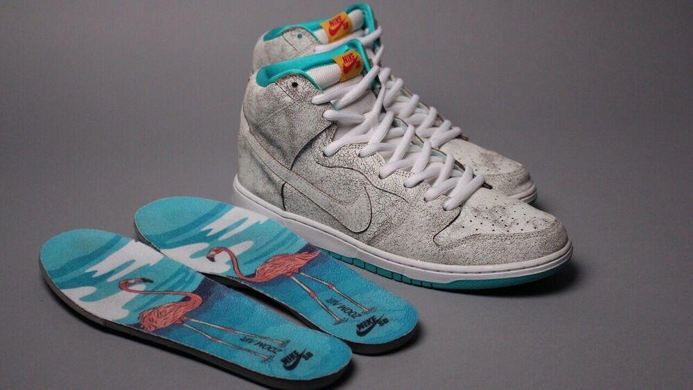 "Nike SB Dunk High Flamingo ""Rare"