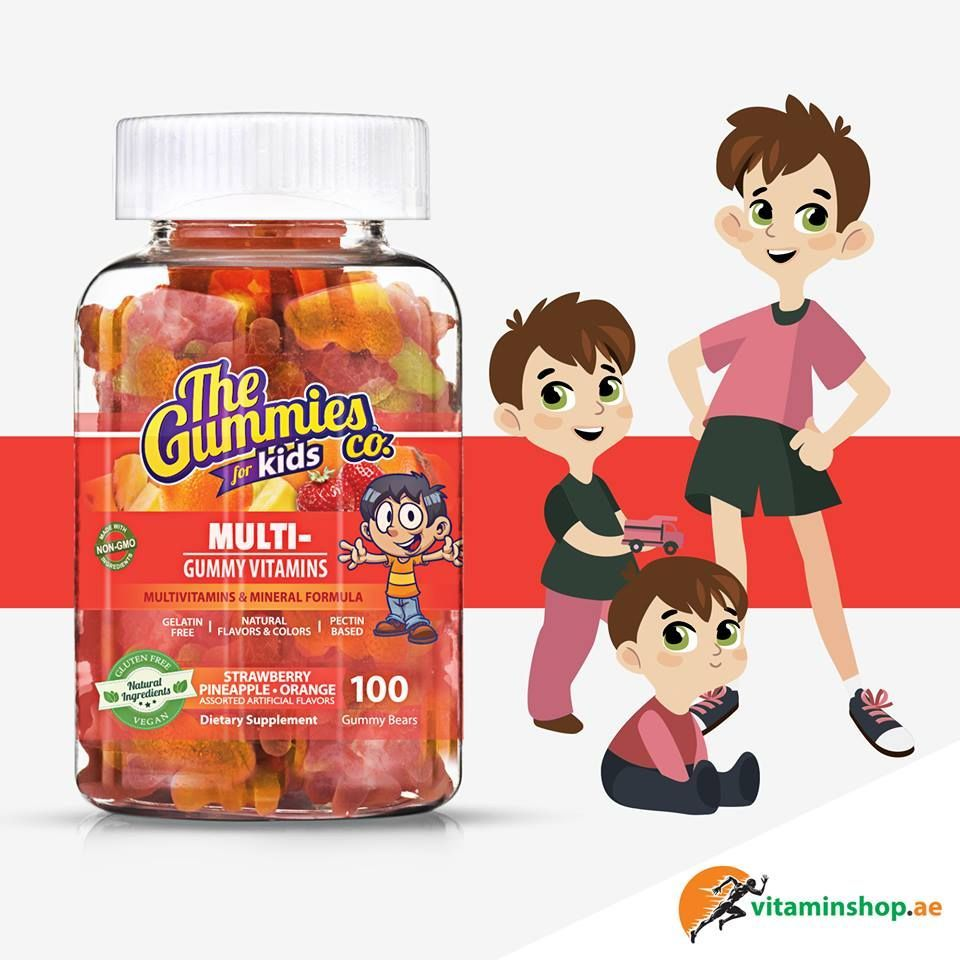 The Gummies Co Multivitamin For Kids Is The Complete Vitamin Formula For Growing Children Helps Improve Absor Vitamins For Kids Gummy Vitamins Gummies