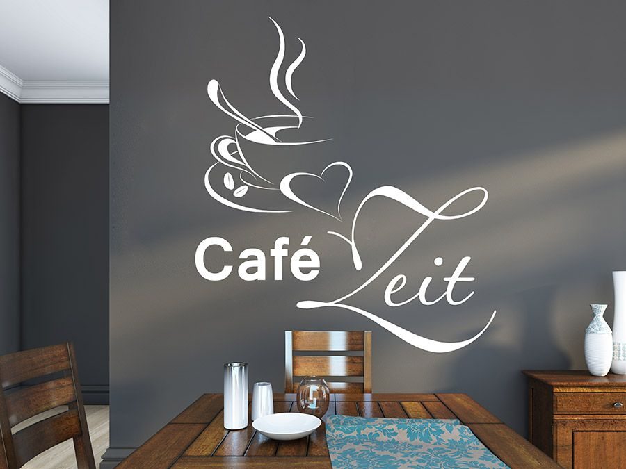 Inspirational  Best images about Wandtatoos on Pinterest Coffee time Bar and Highlights
