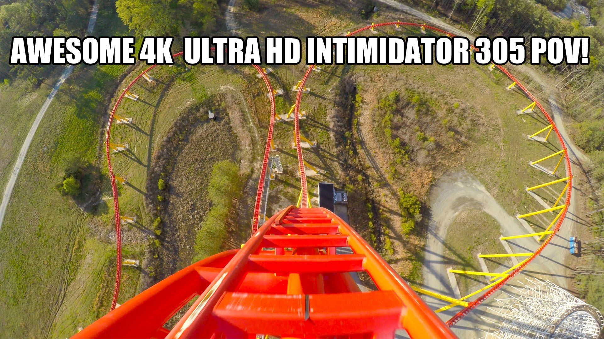 Intimidator 305 4K Roller Coaster POV Ultra HD Kings Dominion ...