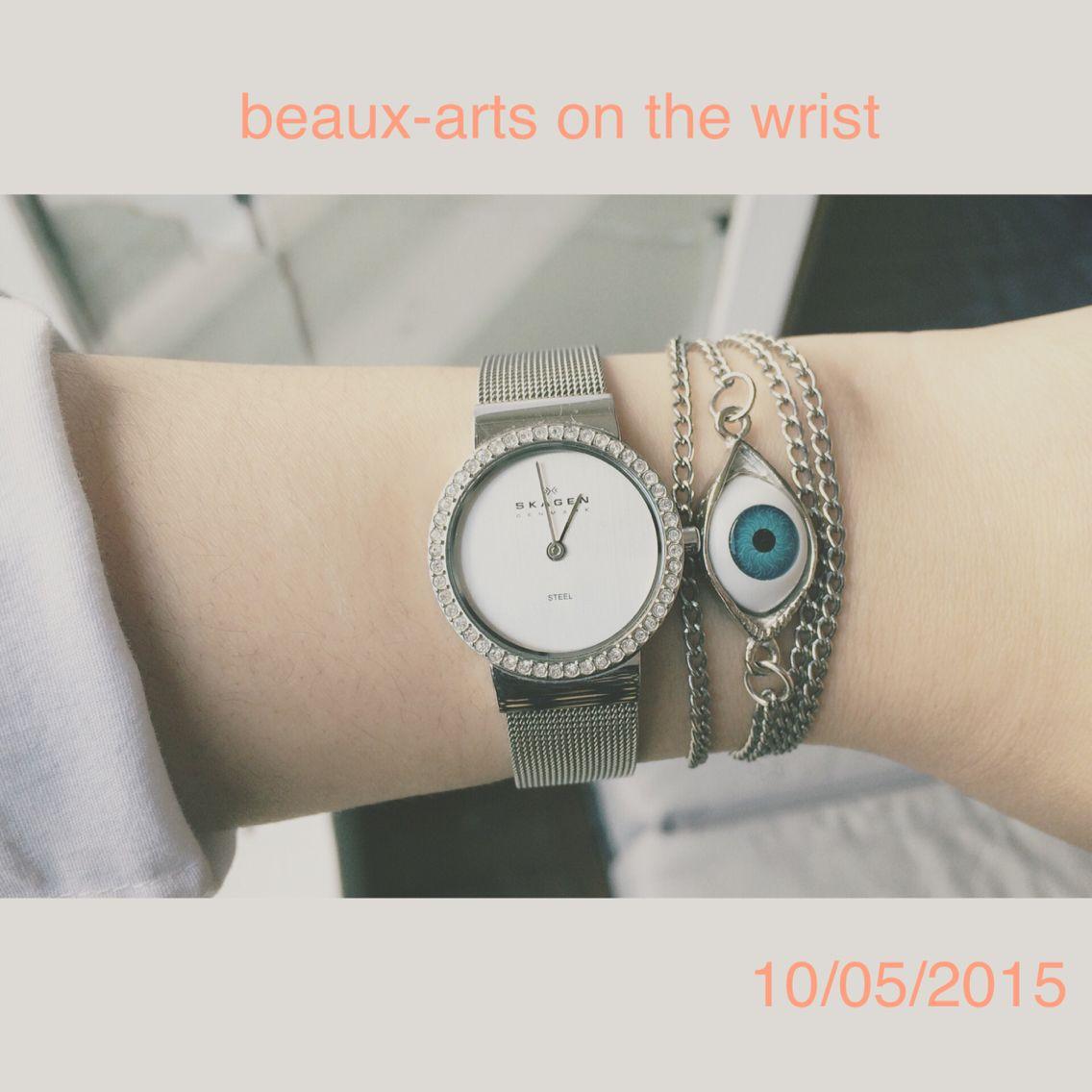 Beaux-art on the wrist