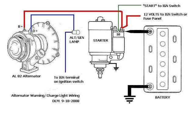 vw alternator wiring diagram switch