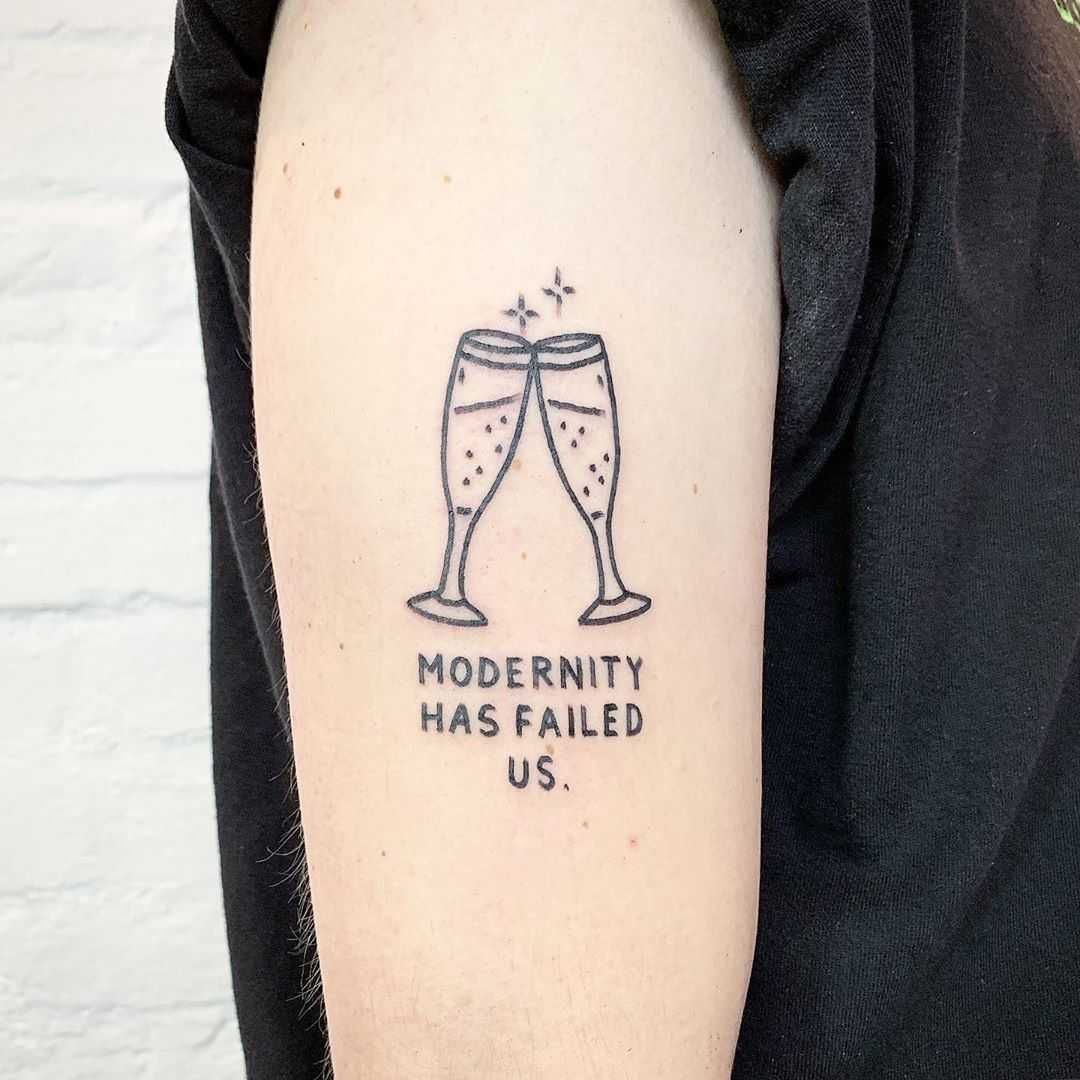 Modernity Has Failed By Themagicrosa In 2020 Cool Arm Tattoos Tattoos Arm Tattoos