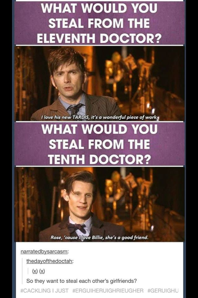 10th and 11th doctor