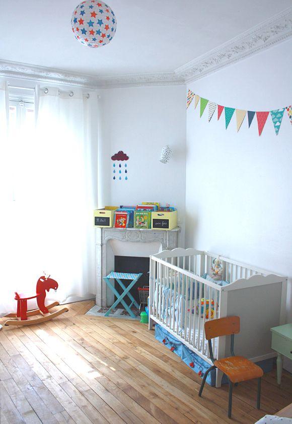 Chambre enfant vintage | Peinture menthe, Murs gris et Menthe