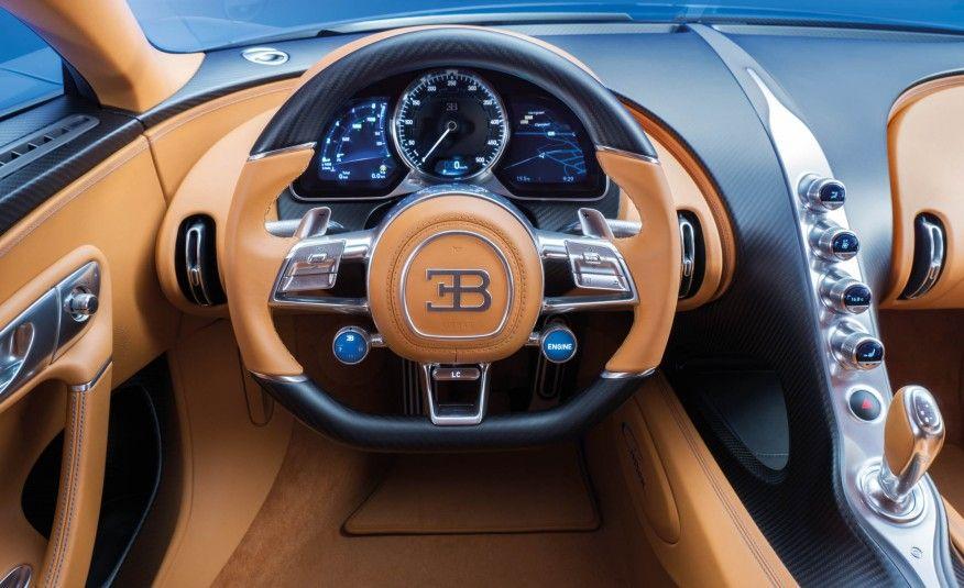 view 2017 bugatti chiron: the $2.6-million, 1500-hp, 261-mph image