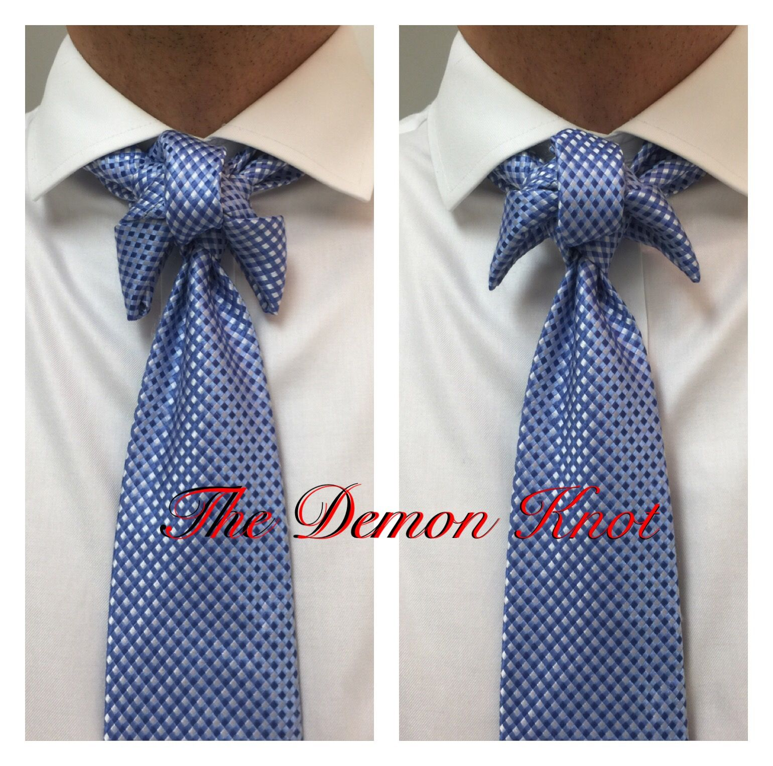 The Demon Knot By Boris Mocka With Images Neck Tie Knots Tie