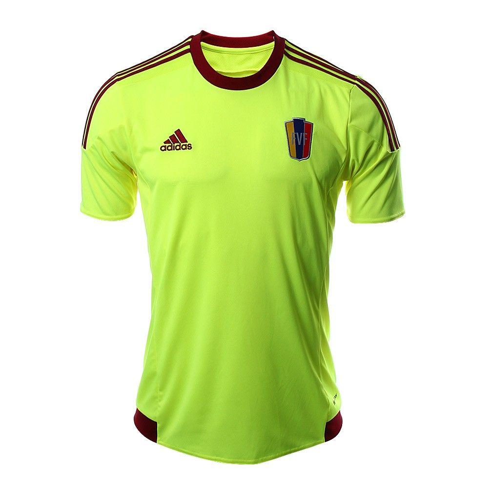 Jersey Visitante Venezuela - Hombres Sports shirts, Soccer j