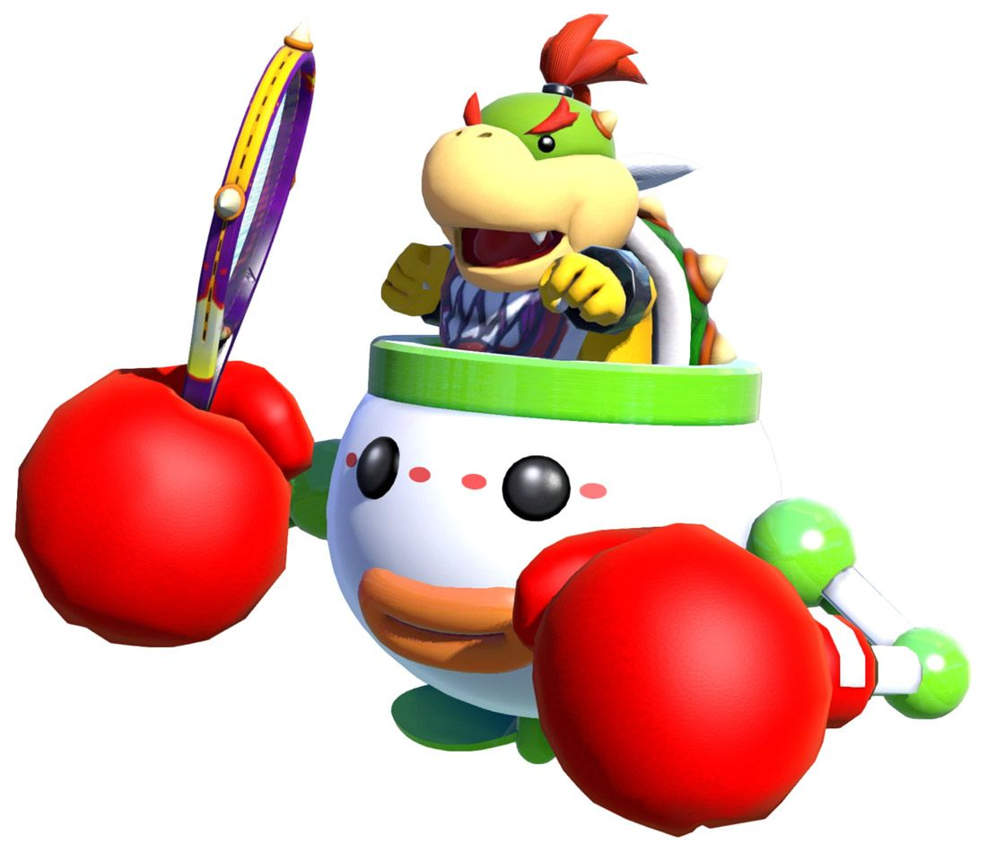 Bowser Jr Render From Mario Tennis Aces Illustration