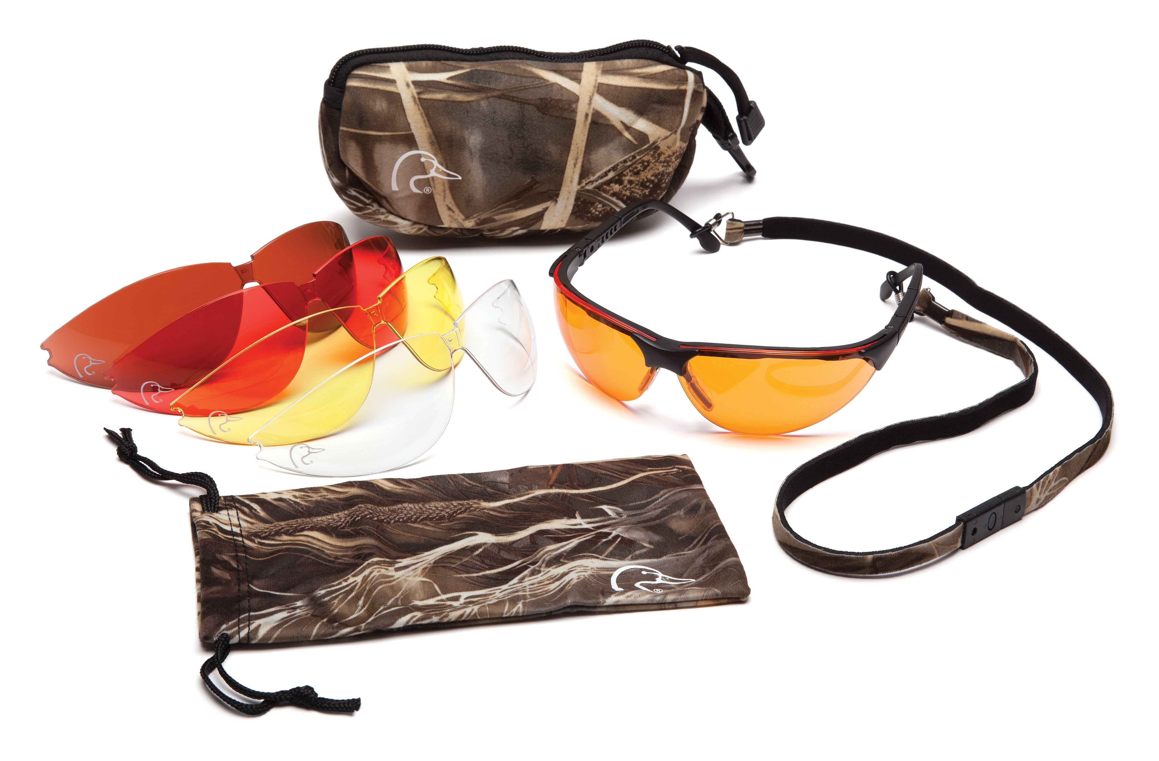 Get your ducks unlimited shooting glasses set a