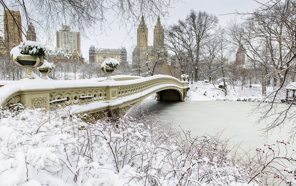 There's nothing better than a snow-covered NYC!