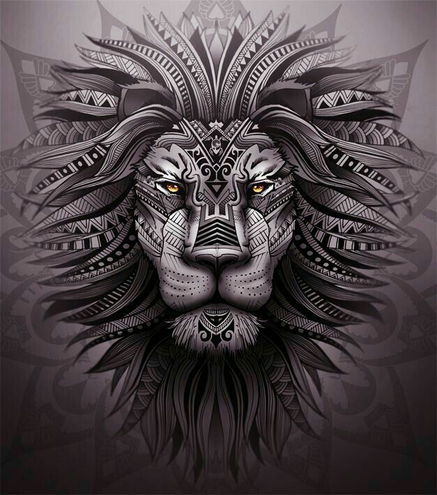 Lion Art Cool Beautiful