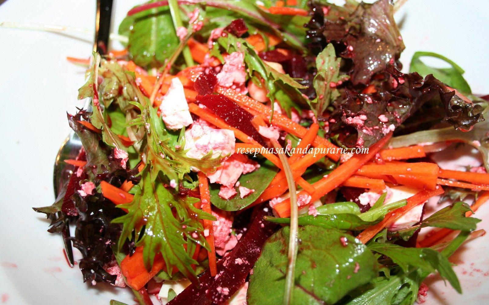 Resep Cara Membuat Salad Beetroot Feta Cheese Macadamia Resep Salad Resep Masakan Resep