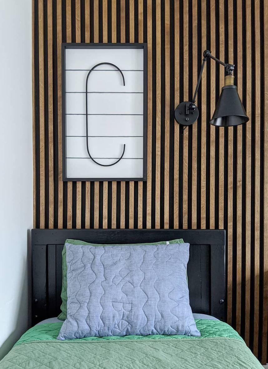 Budget Friendly DIY Accent Wall Ideas in 2020   Wood walls ...