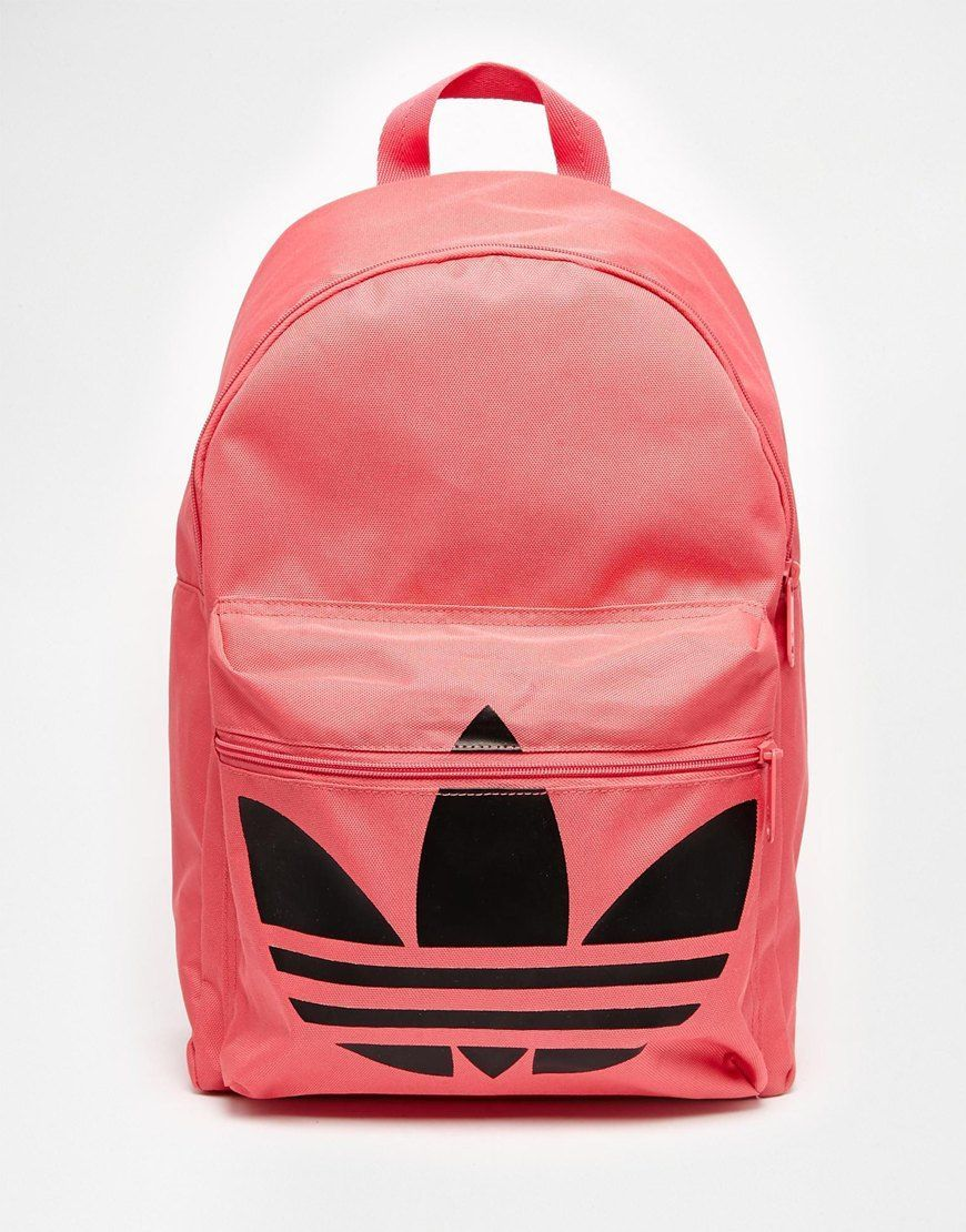 adidas Originals Classic Backpack in Pink  714b0d0575efb