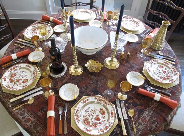 12 Stylish Thanksgiving Table Setting Ideas & 12 Stylish Thanksgiving Table Setting Ideas | Thanksgiving table ...