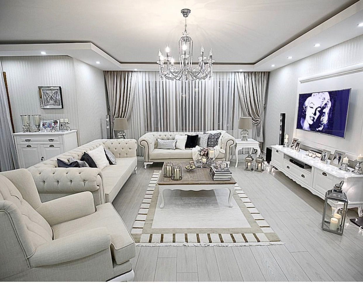 Home Decoration Allows You To Create Luxury Yet Modern Interior Design Projects Discover More Fancy Living Rooms Luxury Living Room Living Room Design Modern