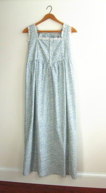 a laura ashley nightgown