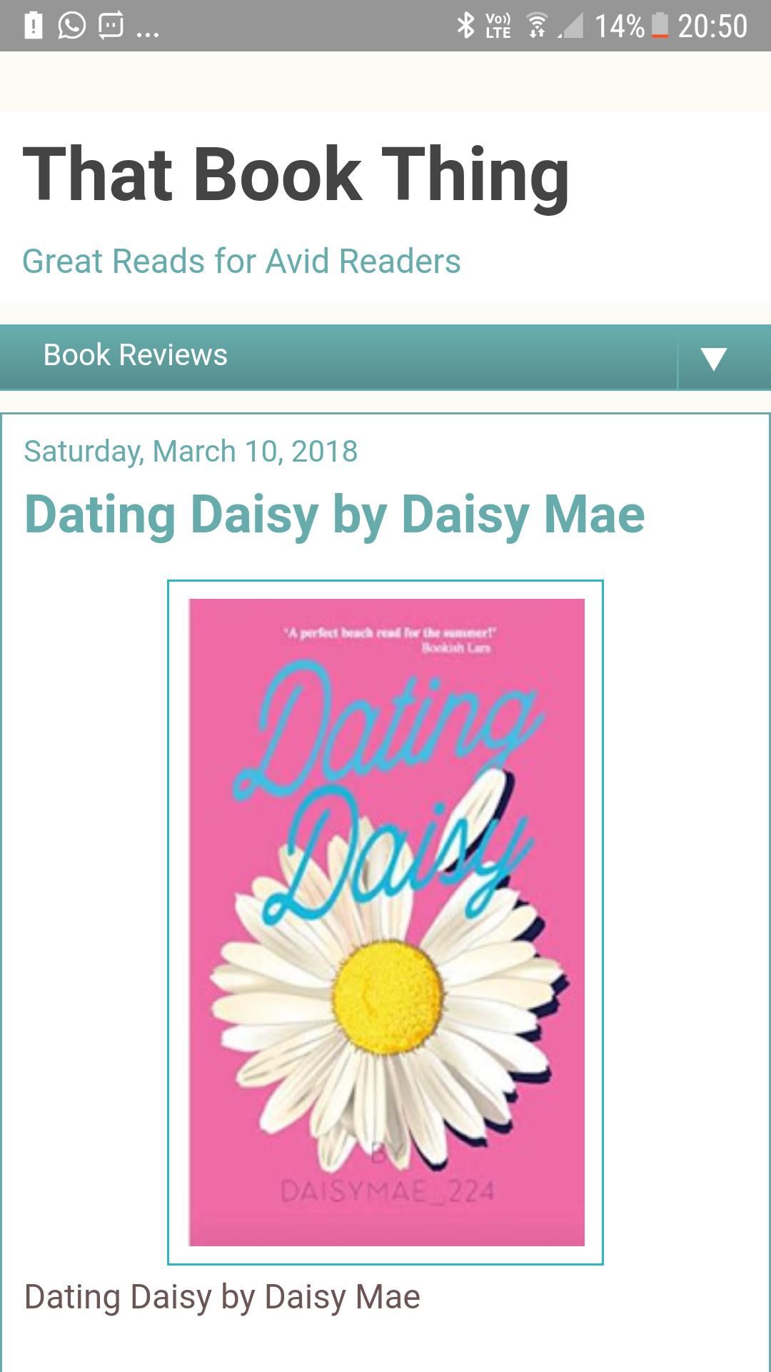 Dating daisy online