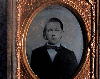 RESERVED Do Not Buy .. Amazing 1850s Ambrotype Photo by diabolus