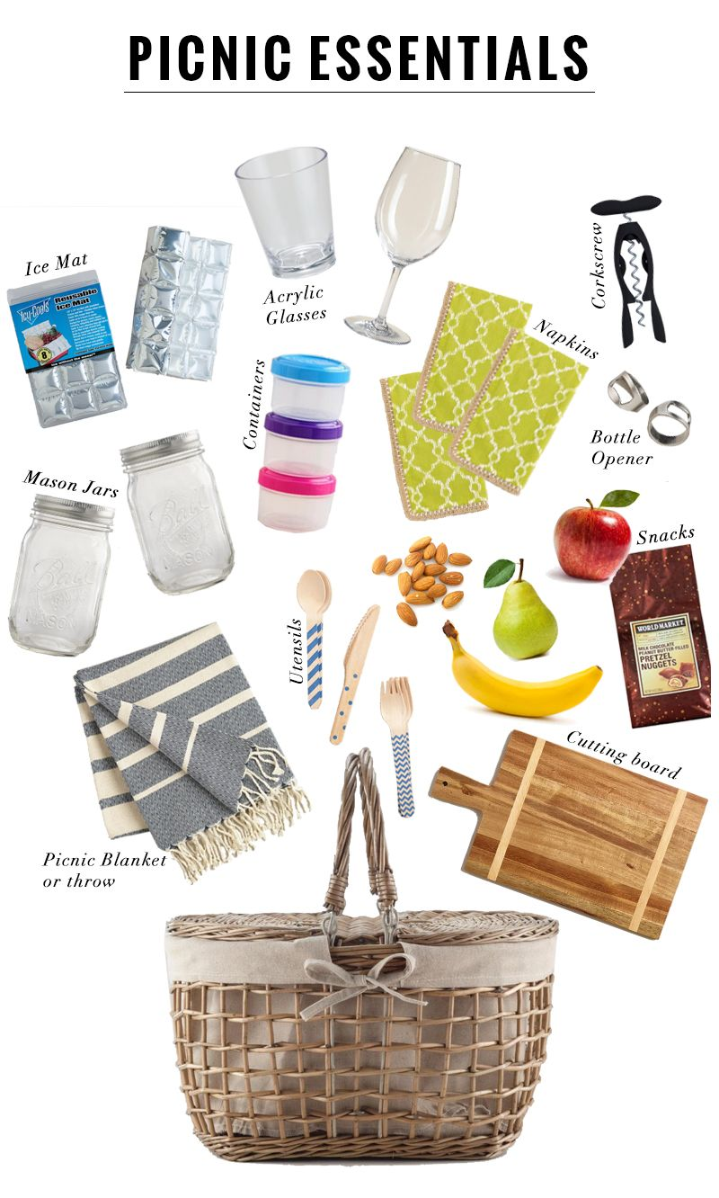 12 Picnic Essentials - Discover, a blog by World Market … | gift ide…