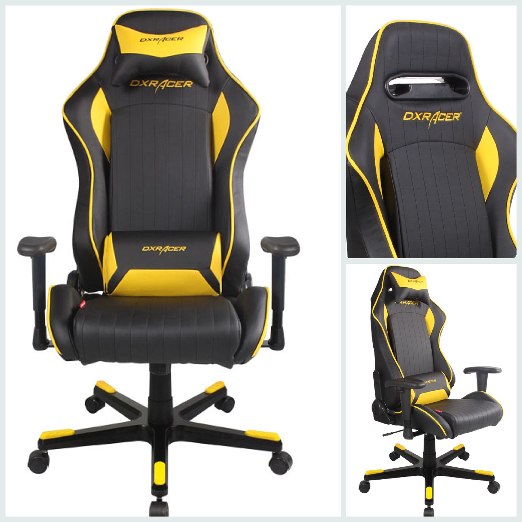 Dxracer Office Chair Popular Dxracer Chair Df51ny Black And Yellow Drifting Games