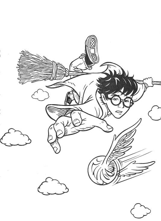 Harry Potter Coloring Pages And Book