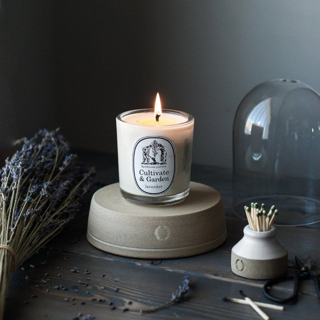 Cultivate & Garden Scented Candles are custom blended to