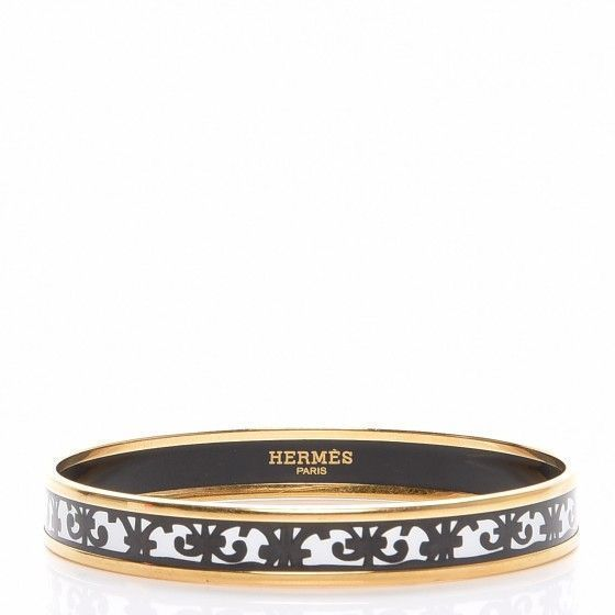 HERMES Enamel Printed Narrow Balcons Du Guadalquivir Bracelet 70 Black #narrowbalcony This is an authentic HERMES Enamel Printed Narrow Balcons Du Guadalquivir Bracelet 70 in Noir Black. This chic bracelet features an enameled decorative black bordering with a rim of gold. #narrowbalcony HERMES Enamel Printed Narrow Balcons Du Guadalquivir Bracelet 70 Black     We have to create large spaces with small bal... #balcons #black #Bracelet #Enamel #Guadalquivir #Hermes #narrow #narrowba #Printed #narrowbalcony