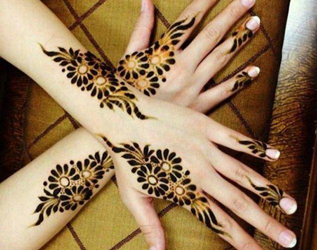 Desenhos Mehndi Significado : Cool back hands punjabi mehndi designs henna