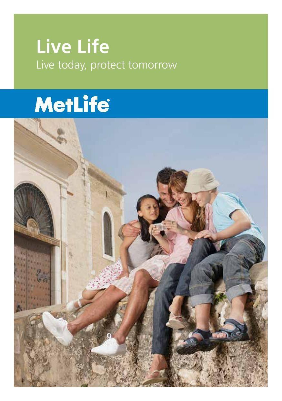 MetLife UAE Live Life Term Insurance page 1 Term