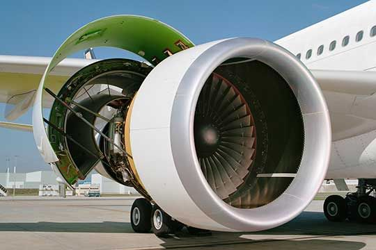 The CF6 Engine | GE Aviation | General Electric's jet engine control
