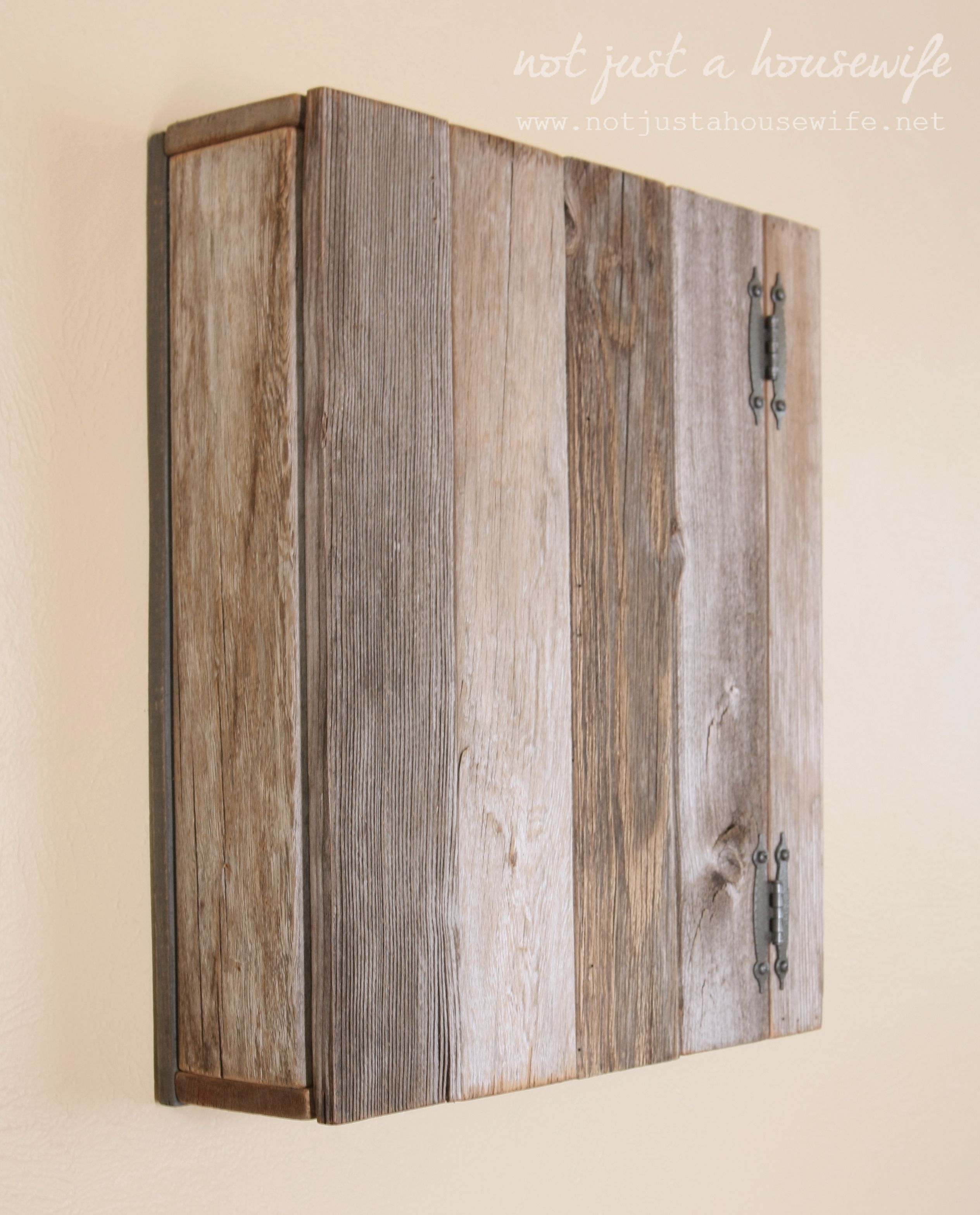 Merveilleux Take A Look At This Cupboard Made Out Of Old Fence Pickets. Stacy, Of Not  Just Au2026