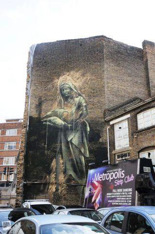 Faith47 in London