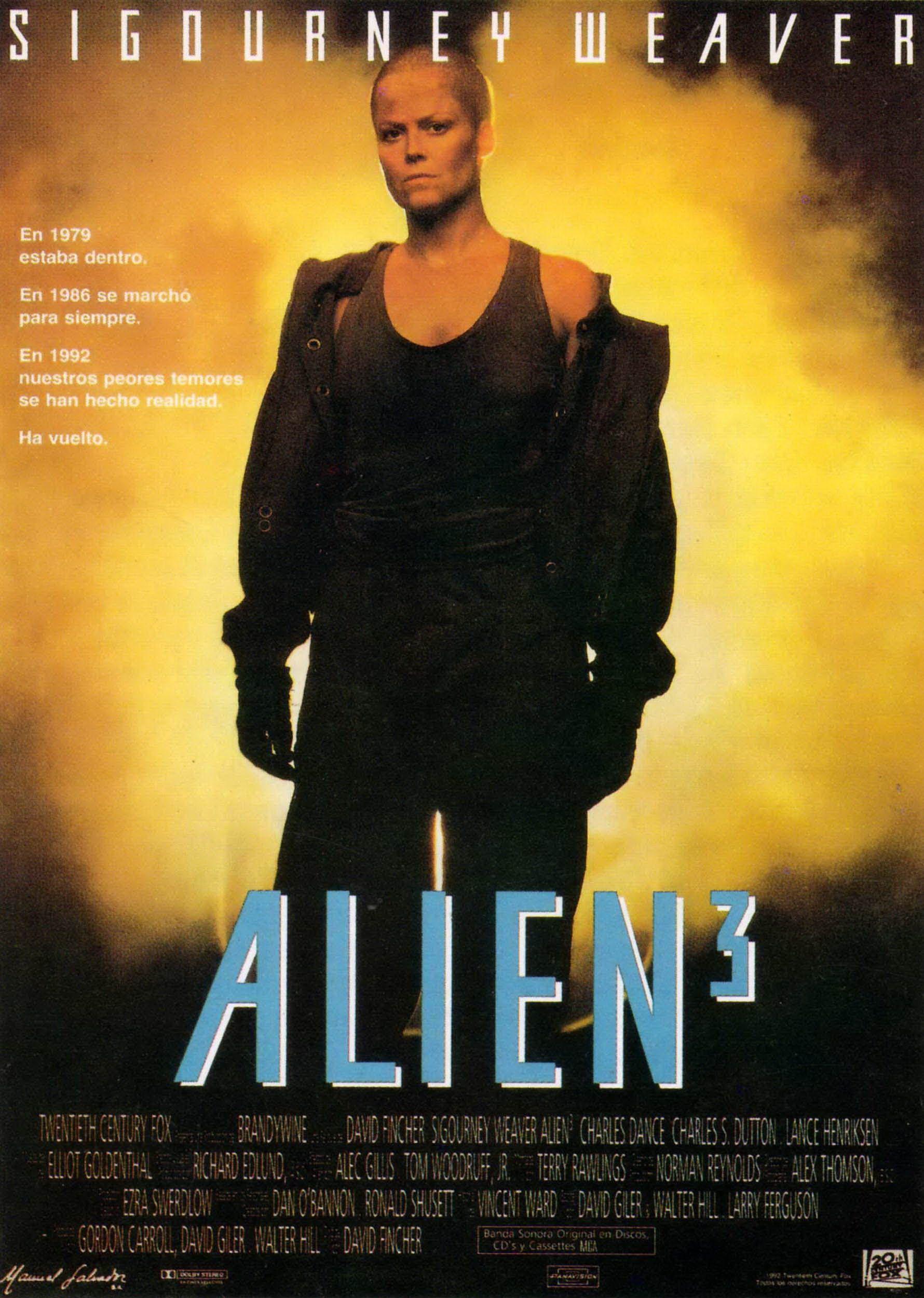 Alien 3 Pelicula De Extraterrestres Peliculas Cine Peliculas