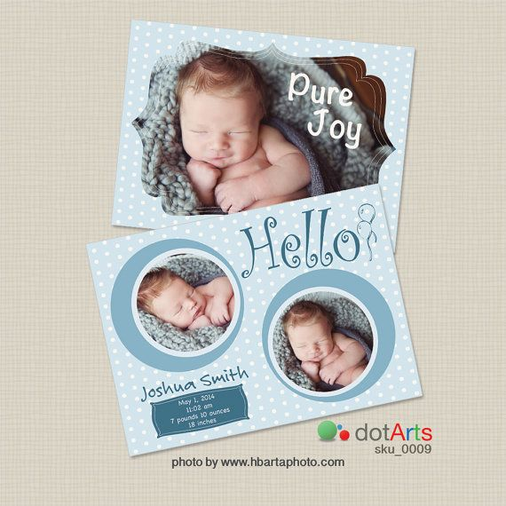 Birth announcement template - INSTANT DOWNLOAD Births, Etsy and - birth announcement template