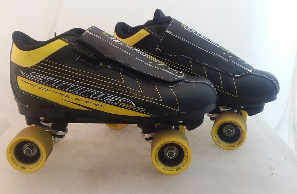 Roller Derby Mens Sting 5500 Quad Roller Skate