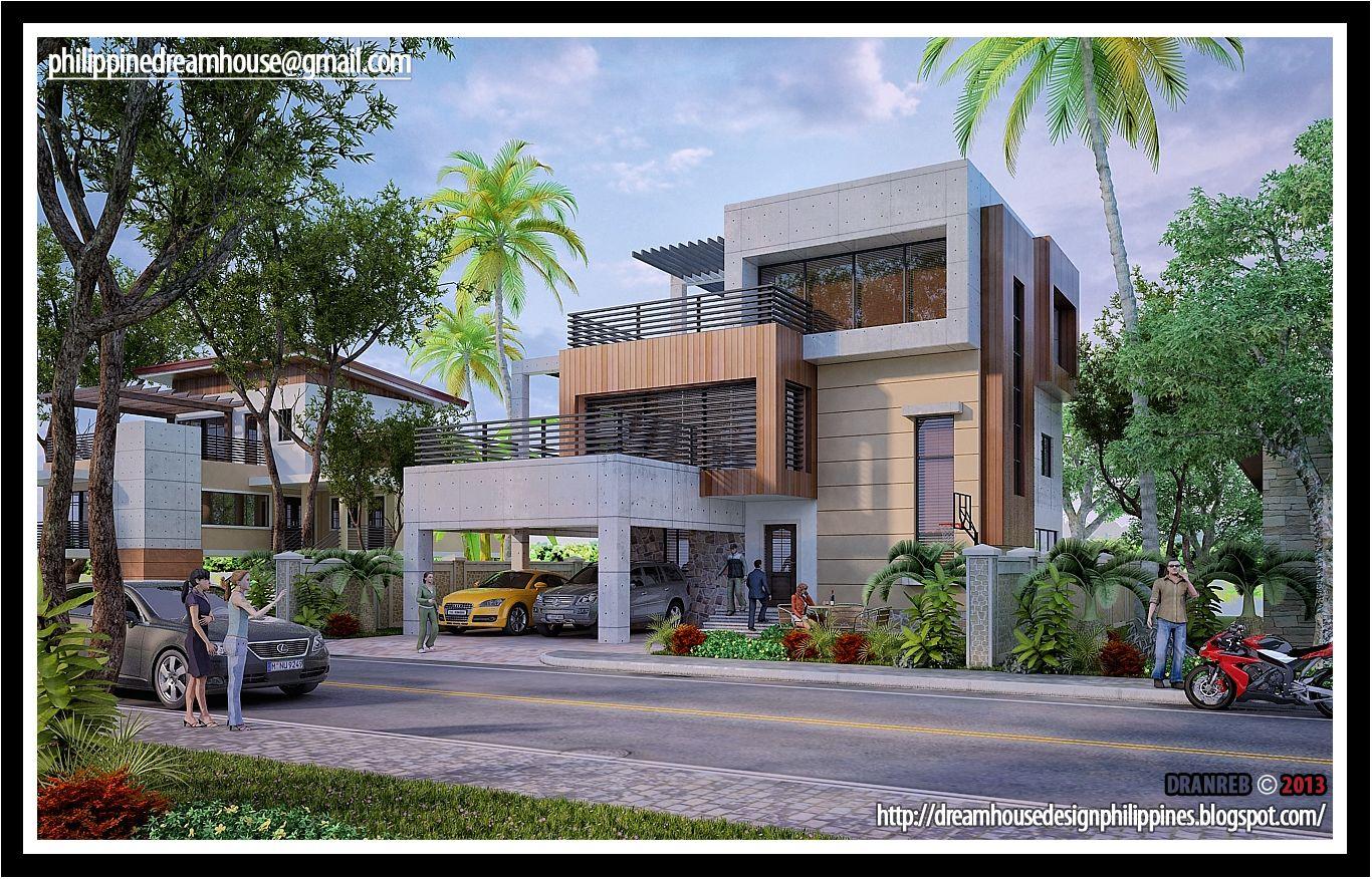 3 Story House Modern House