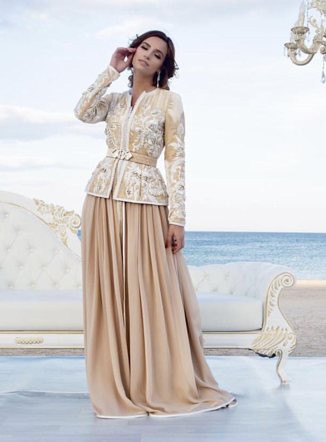 d998ed19c9f5 Romeo haute couture Caftan Marroqui, Moda Árabe, Moda Vaquera, Bordado,  Caftanes,