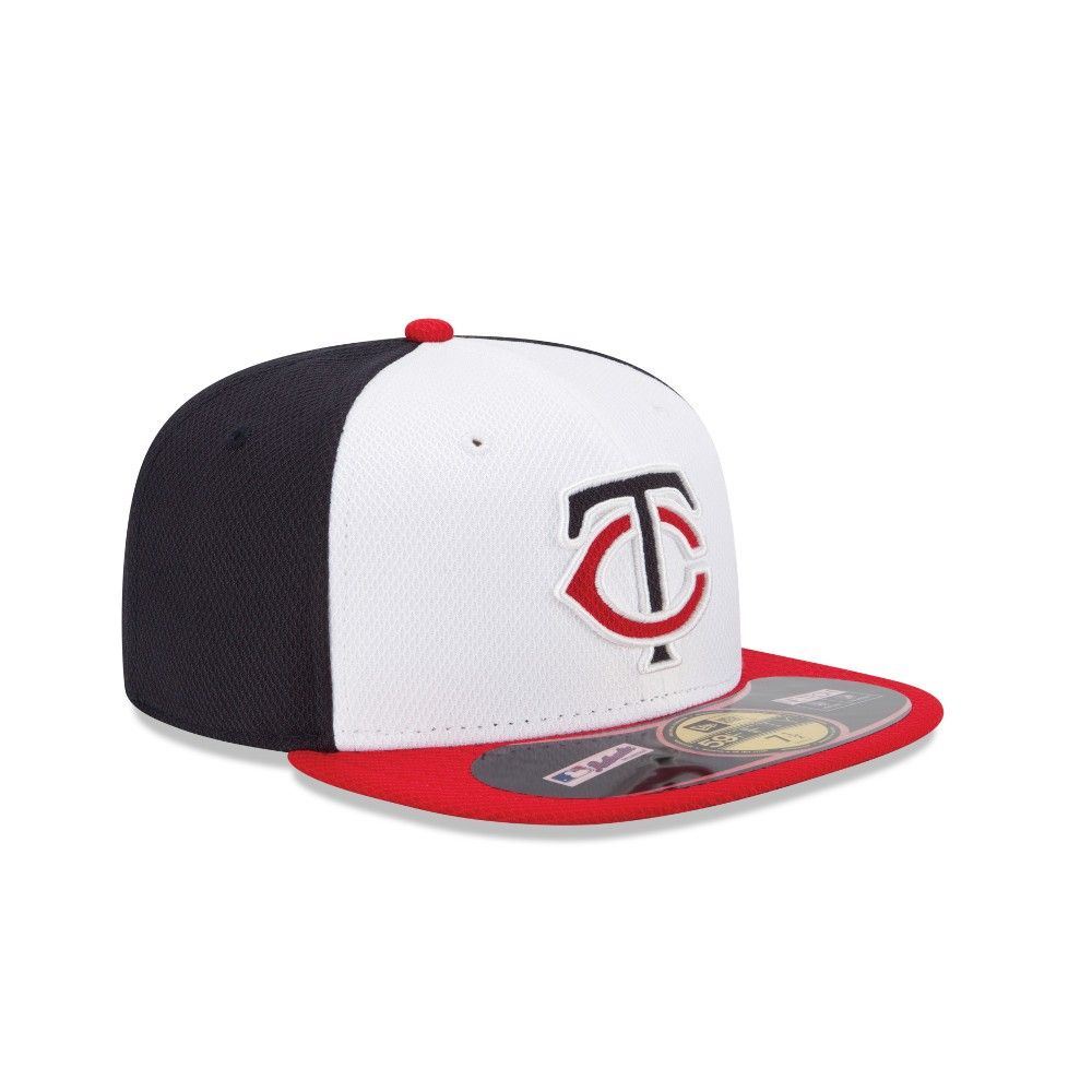 competitive price e73f9 e2a4c ... promo code for minnesota twins new era mlb diamond era 59fifty home fitted  hat white 6d532