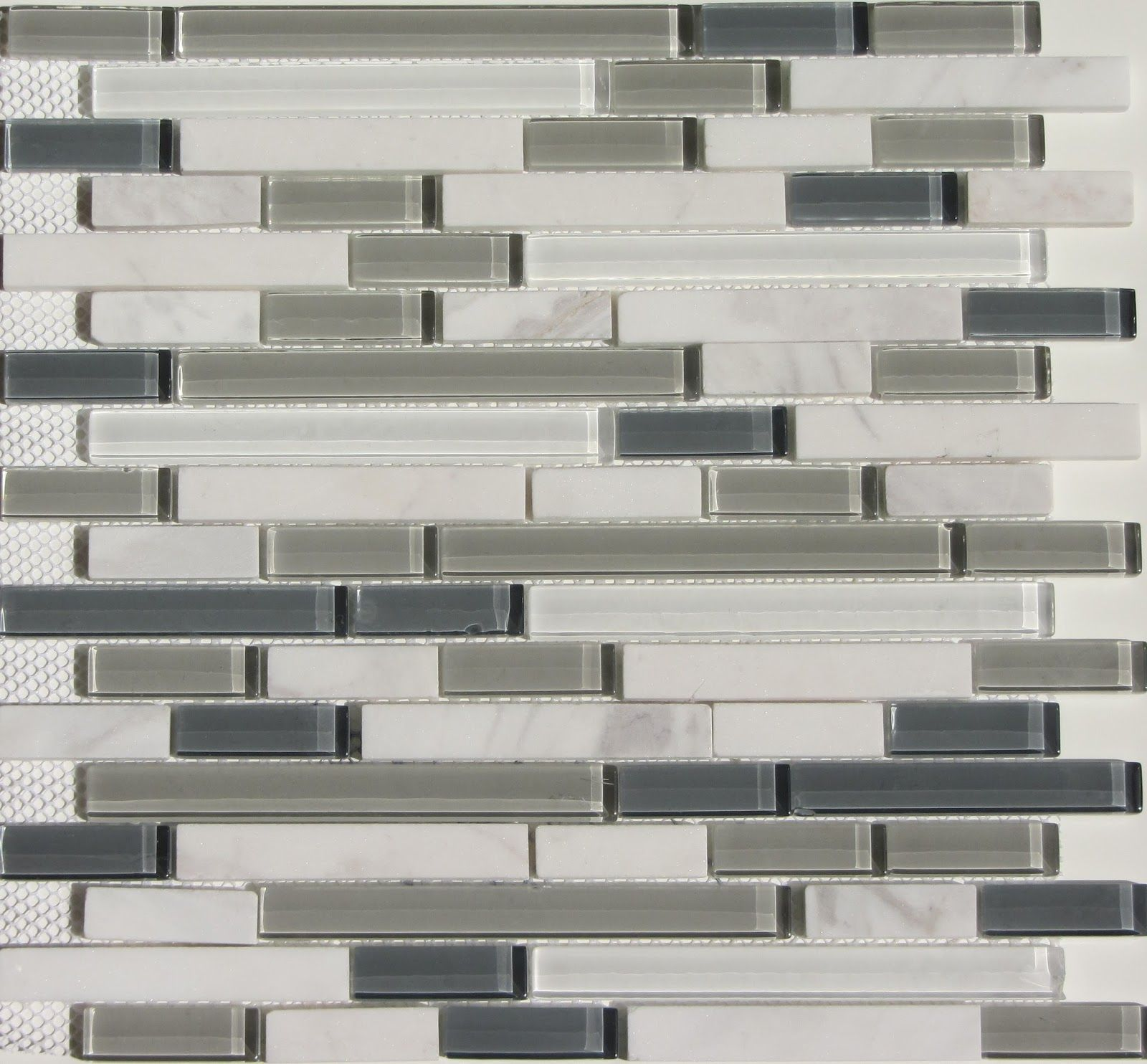 Introducing Bliss Select Glass and Stone Blend Mosaics