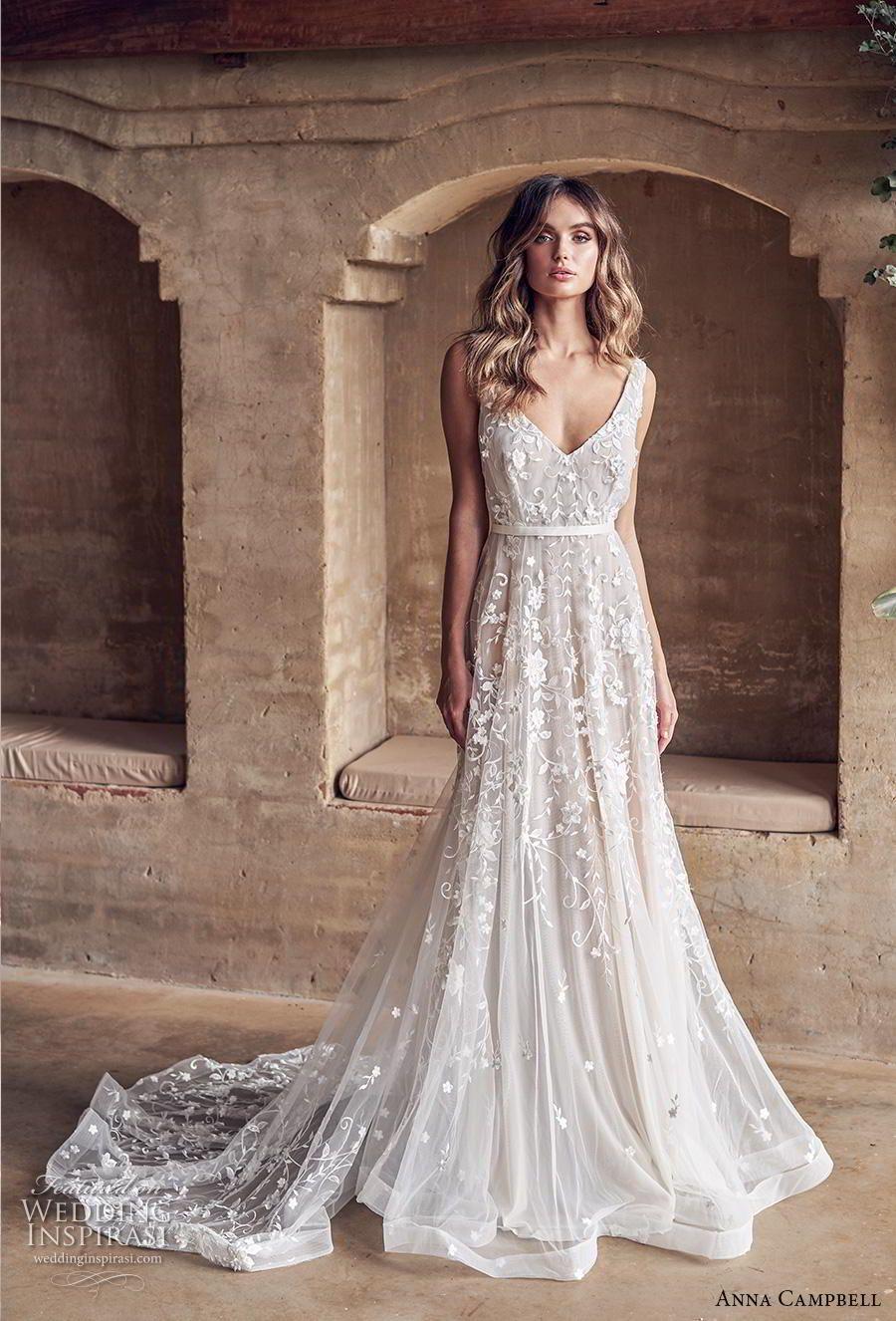 Redneck wedding dress  Anna Campbell  Wedding Dresses u ucWanderlustud Bridal Collection