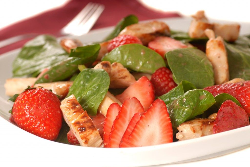 12 Fresh Salad Recipes For Spring Fresh Salad Recipes Spinach Salad With Chicken Hcg Diet