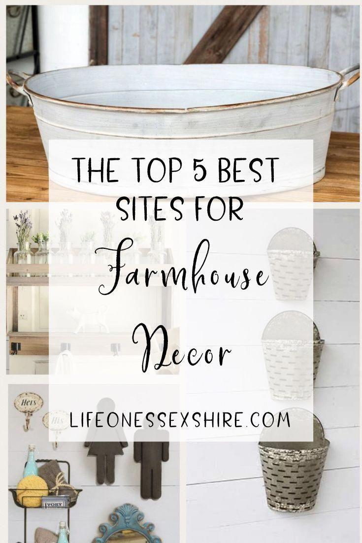 Photo of The 5 Best Websites to Shop Farmhouse Decor!