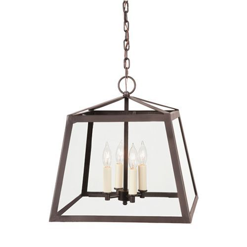 jvi designs troy oil rubbed bronze fourlight large lantern pendant with clear glass