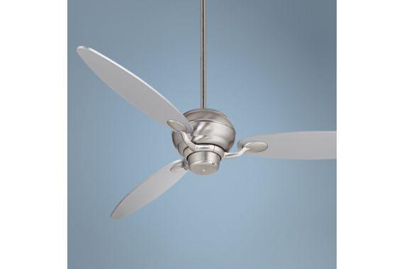 Casa Vieja Spyder Ceiling Fan 60 Brushed Steel Brushed Steel Ceiling Fan Casa Vieja