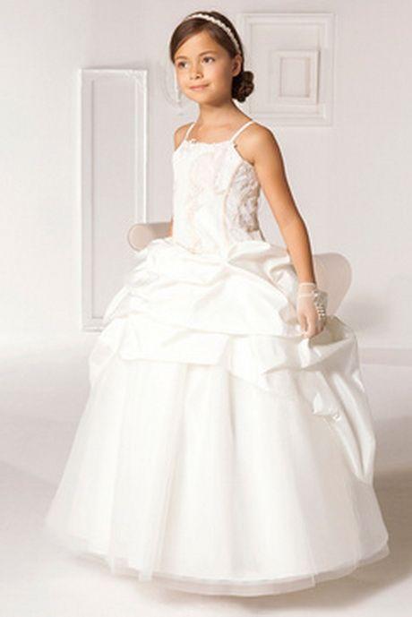 Robe de mariee pour petite fille