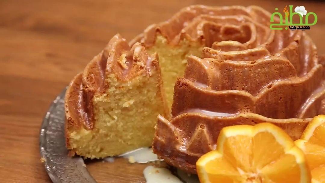 مطبخ سيدتي On Instagram كيكة البرتقال جربيها هذا المساء ساعة من الروقان إلى جانب كوب من الشاي الساخن Lamalicious Cuisine Dessert Recipes Desserts Recipes
