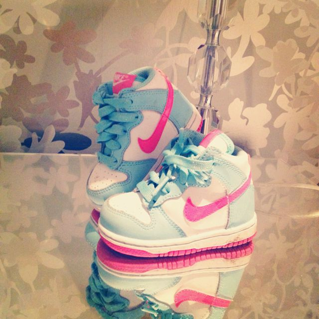 best place vast selection the sale of shoes Nike high tops for a two year old :-) ((: I would get my ...